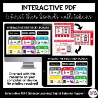 Interactive PDF - First Then Boards
