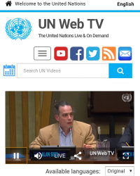 Alan Seid's presentation on Nonviolent Communication at the United Nations