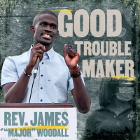 Join Rev. James Woodall and help protect the right to vote. #MakeGoodTrouble