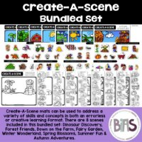 Create-A-Scene Resource on TPT