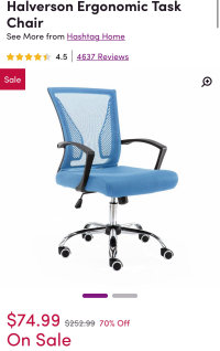 Office chair only $74