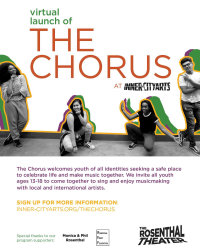 🎶 The Chorus at Inner-City Arts 🎶
