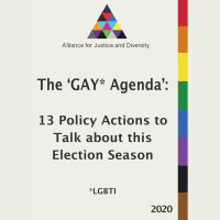 Learn more about our Gay Agenda Here!