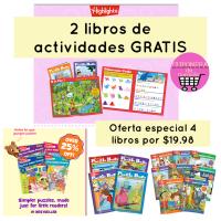 2 libros de actividades gratis