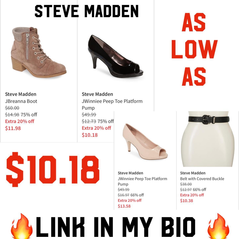 Steve Madden 90% off