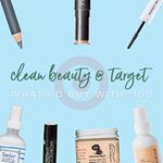 clean beauty picks from TARGET!