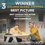 Green Book Wins 3 Golden Globes!