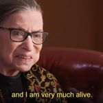Justice Ginsburg: 'I Am Very Much Alive'