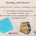 Bonding with Books: benefiting foster children in Winnebago County