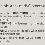 "What is Conscious Communication? (a.k.a. NVC - please note 4 ""OFNR"" Steps)"