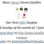 How to join Street Giraffes (sangha/telepractice)