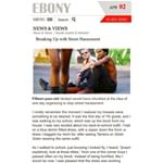 Ebony: Breaking Up with Street Harassment (Writer)